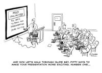 20 способов гарантировано провалить презентацию